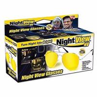 Kacamata Anti Silau Saat Malam Lensa Kuning DnA