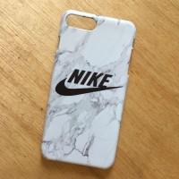 NIKE marble case casing iphone zenfone samsung mi a1 oppo F5 V7+ f3