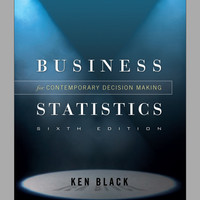 3 in 1 Statistics for Business and Economics Ken Black + FREE SOFTWARE