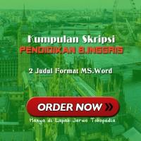 2 Judul Skripsi Pendidikan Bahasa Inggris