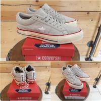 Converse One Star x UNDEFEATED Grey Premium BNIB (Free tas sepatu)