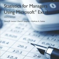 statistics for Managers Using Microsoft Excel 8th edition by Levine