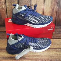 NEW ORIGINAL PUMA IGNITE DUAL NETFIT Sepatu Olahraga Running Pria