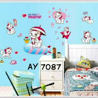 Motif Kucing n Friends Wallpaper Wallsticker uk 50x70 cm