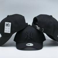 TOPI NY YANKEES BASEBALL CAP BLACK HITAM PREMIUM IMPORT 6b74956895