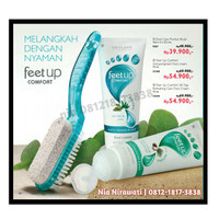 Jual Foot Cream Oriflame Free Sikat Murah