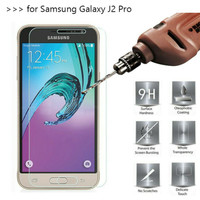 Tempered Glass Samsung J2 Pro 2018 Screen Protector Anti Gores Kaca