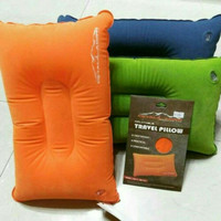 travel pillow bantal tiup camping dhaulagiri