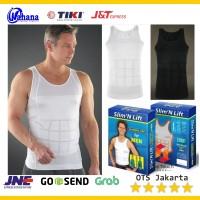 Slim n Lift Fit SInglet Pelangsing Kaos Dalam Anti Buncit Korset