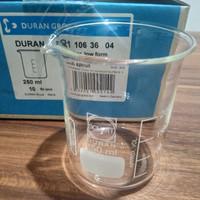 Beaker glass 250 ml / gelas piala / gelas kimia (Originall DURAN)