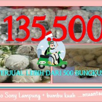 Bakso Sony Besar 50 + Bumbu Son Haji Lampung Daging Sapi Asli Halal