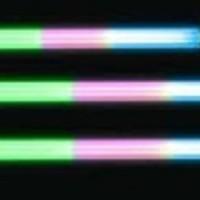 Lampu Aquarium Celup/TL Ikan Celup RCS-400N-7W Three Colour