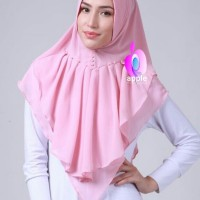 Jual Hijab Jilbab Kerudung Instan Khimar Verana Pearl Mutiara by Apple Murah