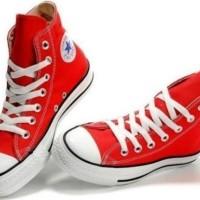 Sepatu Converse AllStar Height Tinggi Grade Original Warna Merah
