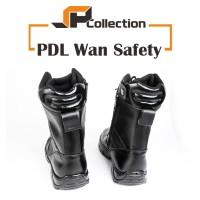 UKURAN JUMBO Sepatu PDL Wan Safety bahan kulit sapi asli uk 46-47