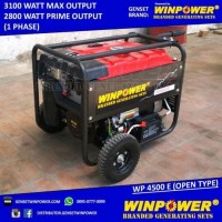 Genset / Generator Winpower 3000 Watt, Electric Starter Berkualitas