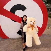 boneka beruang teddy bear jumbo 120cm