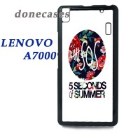 Casing Lenovo A7000 5 Second Of Summer Floral Hard Case Custom
