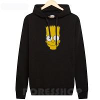 Hoodie / jaket / sweater Simpsons logo