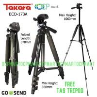 Tripod Takara Eco 173A Hp smartphone slr mirrorless mirorrless gopro