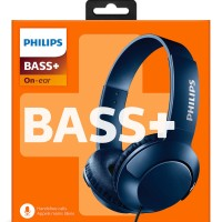 Philips BASS+ Headphone With Mic SHL 3075 - Blue
