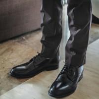 Sepatu Pria / Sepatu Pantofel / Sepatu Kulit Jackwell Allen Black 1602