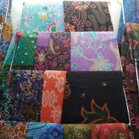 Ready stock aneka kain batik printing motif khas Jogja Solo