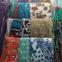 Ready stock kain batik printing desain motif khas Jogja Solo
