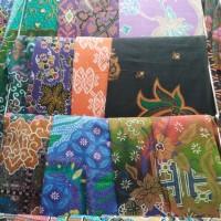 Ready stock kain batik printing motif khas Jogja Solo
