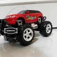 rc monster truck / remot kontrol mobil big foot / jeep off road