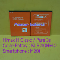 Baterai Himax Pure 3s / Himax H Clasic KLB210N340 Model HP : M20i