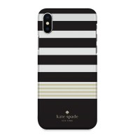 Indocustomcase Kate Spade Stripe Pattern KS07 Case Cover For iPhone X