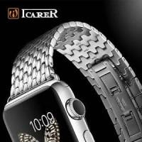 Apple Watch Strap/Band Icarer Stainless Steel Bracelet 38m Berkualitas