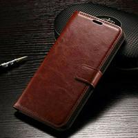 flip cover leather kulit sintetis samsung J7 pro flip case J7pro