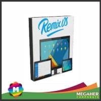 DVD OS. REMIX Android versi PC Bisa BBMan dan Coc an