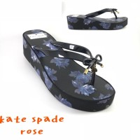 |TRELARIS|NEW PRODUK| Sandal wedges katespade kate spade flower