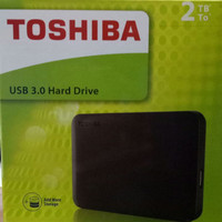 TOSHIBA HARD DISK EXTERNAL 2TB / EXTERNAL HDD 2 TB GARANSI RESMI