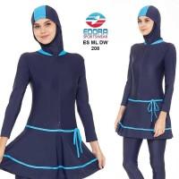 Baju Renang Muslimah ES ML DW 208, Baju Renang Edora Muslimah, Murah