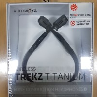 AfterShokz Bone Konduksi Trekz Titanium Wireless Stereo Sport Earphone