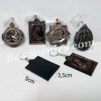 Gantungan kunci Unik KALIGRAFI ARAB / Souvenir Pernikahan Murah