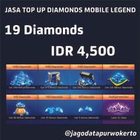 Top Up Diamond Mobile Legend 19