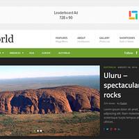 TheWorld Wordpress Theme by Theme Junkie