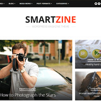 SmartZine Wordpress Theme by Theme Junkie