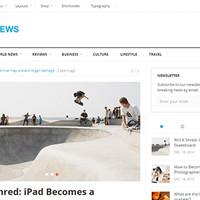 SuperNews Wordpress Theme by Theme Junkie