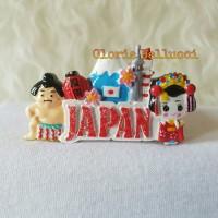 SOUVENIR TEMPELAN MAGNET KULKAS SUMO JEPANG NINJA JAPAN