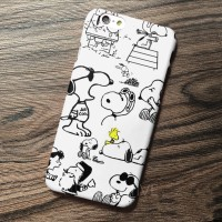 SNOOPY DOG CUTE logo case casing iphone zenfone samsung mi a1 oppo F5