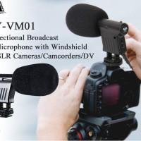 Jual Mic Boya VM-01 Microphone for DSLR Camcorder Professional Murah