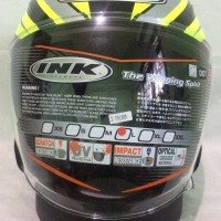 Helm INK Dynamic #1 Yellow fluo Silver