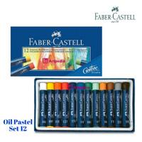 Faber Castell GoldFaber Oil Pastel 12/ 12 Studio Oil Pastels /Crayon