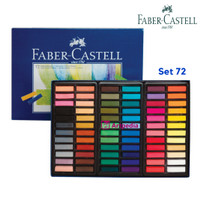 Faber Castell Soft Pastel 72 warna / Fabercastell / Soft Pastels